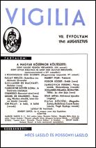 1941. év, 7. évfolyam, 8. szám