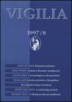 1997. év, 62. évfolyam, 8. szám