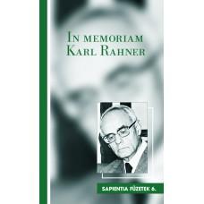 In memoriam Karl Rahner